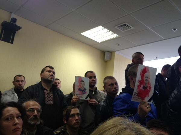 Court hearing re case of ex-Berkut officer Sadovnyk postponed till 1Oct - he's in hospital