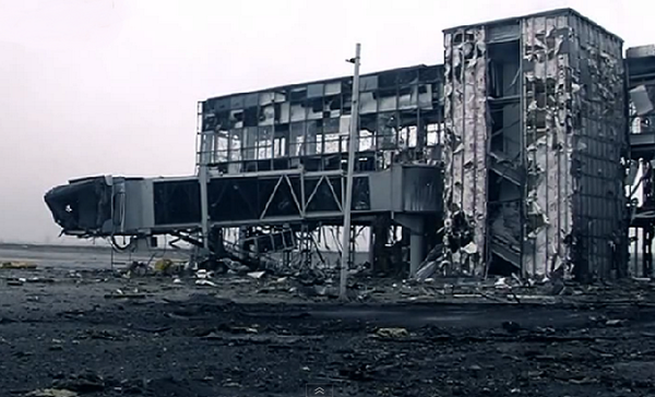 Donetsk airport. Ukraine has its best troops there, they've been holding it for 5 months now