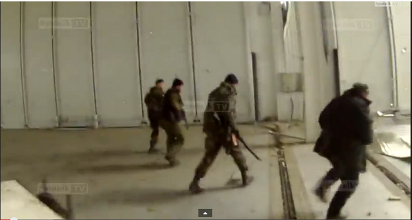 Russia forces inside Donetsk Airport