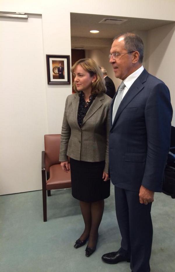 Sergey Lavrov met with FM of Moldova Natalia Gherman