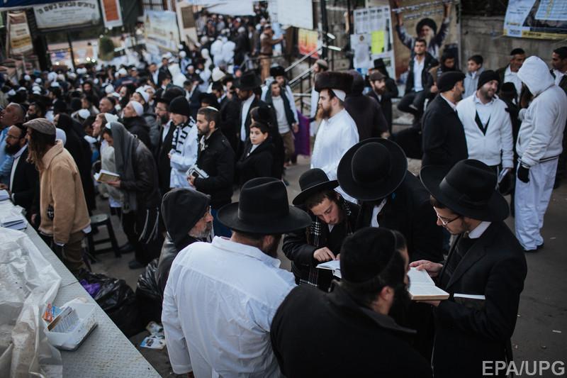 Chassidic Jews celebrate the Rosh Hashanah in Uman