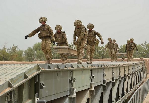 """Today soldiers from the Duke of Lancaster's Regiment, UK arrive in Latvia for the """"Silver Arrow 2014"""" exercise"""