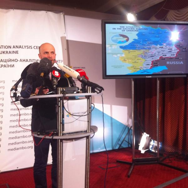 Volodymyr Polevyi @NSDC_ua: terrorists keep attacking Ukrainian armed forces in Donetsk and luhansk regions