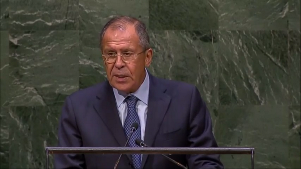 UNGA: Speaking about Ukraine crisis, Russia's FM Lavrov again uses words like 'coup', 'self-declared Kyiv govt'