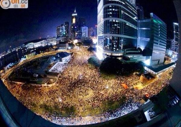 Occupy Central in Hong Kong. First serious challenge to Xi leadership.