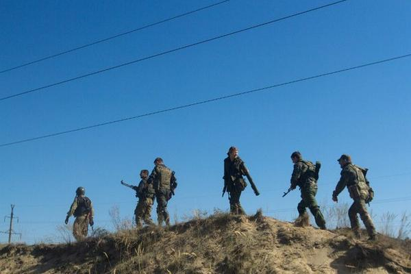 NSDC: Russian militants shelled Schastya with mortars