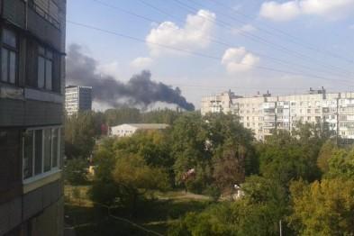 Shells hit Tochmash plant in Donetsk