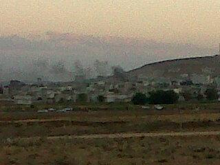 The IS shells central Kobane