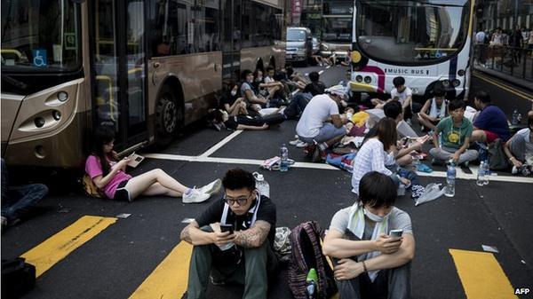 Banks shut branches over Hong Kong protests