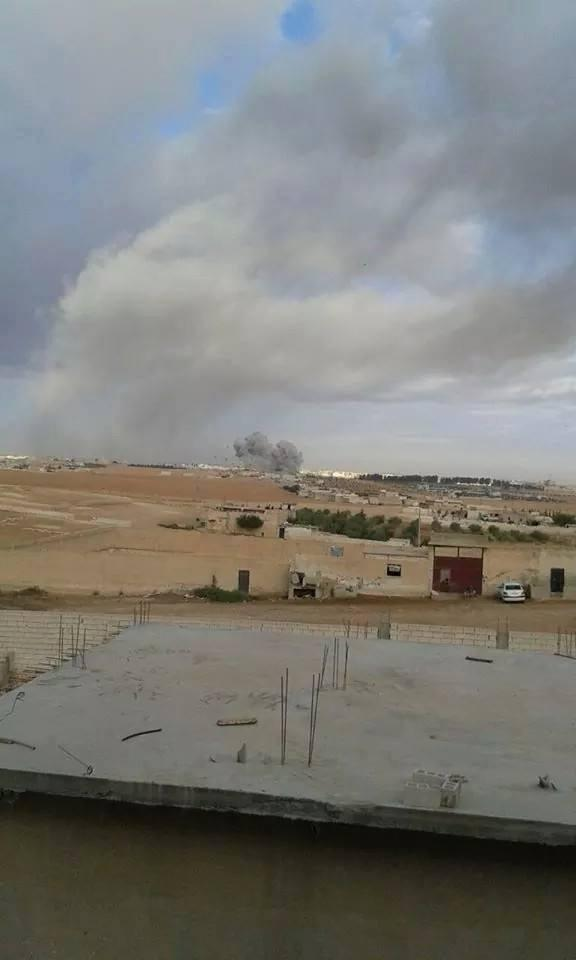 US-led coalition airstrikes fuel market in Menbij according to activists