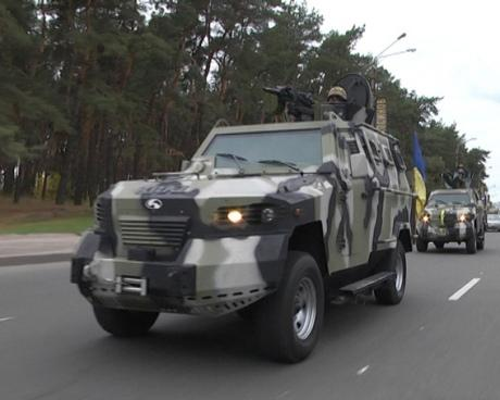 The situation in Kharkiv: the streets are patrolled by armored vehicles, the metro in city centre was closed