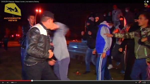 Clashes in Kharkiv