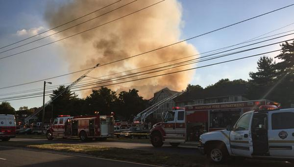 Several buildings destroyed by massive fire in Antioch: