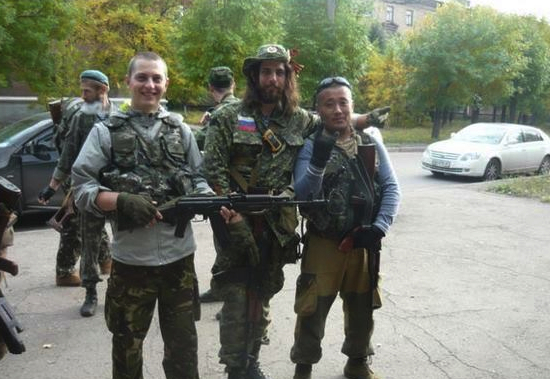Mercenary from China join Russian militants in Donetsk