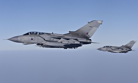 UK Royal Air Force Tornado GR4 aircraft have been in action over Iraq today in the fight against ISIL.