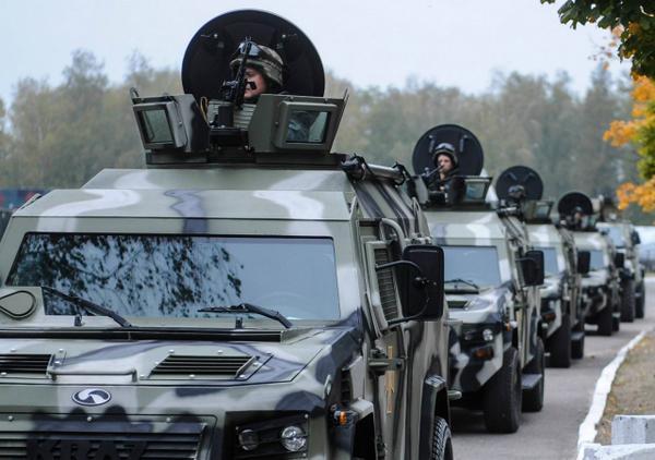 New Ukrainian armored vehicles