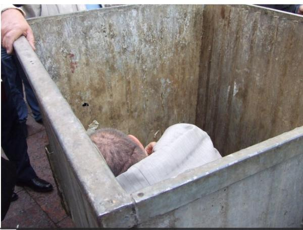 One more Ukrainian MPs was put in garbage container