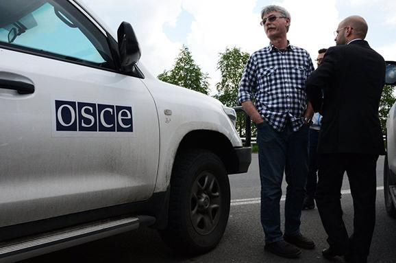 OSCE observers unable to approach militant positions, monitor only Ukrainian