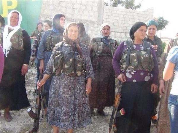 People of Kobane is now ready for self-defense against ISIS. All remaining people will stay, not leaving the city.