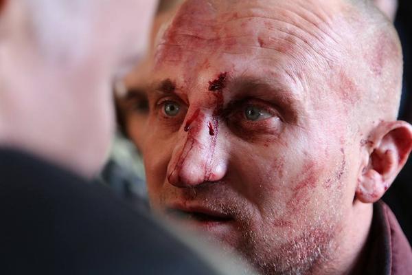 Fight near appeal court in Kyiv