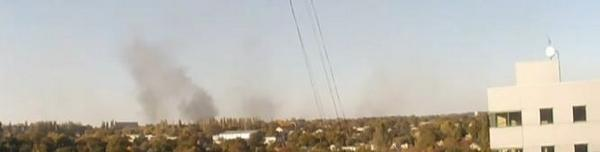 Donetsk airport view right now: