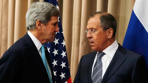 Lavrov urged Kerry to stop shelling Donetsk