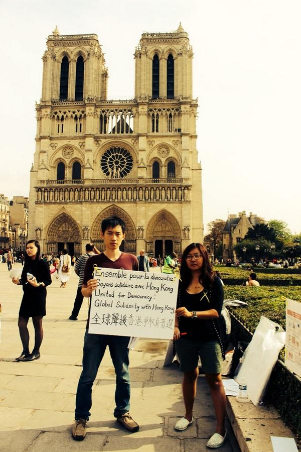 France supports UmbrellaRevolution