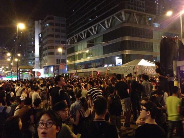 Police coming HongKong