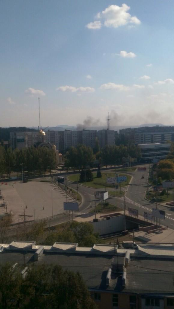 Donetsk Gladkovka: bombardment with Grad rockets launchers more than 20 explosions.