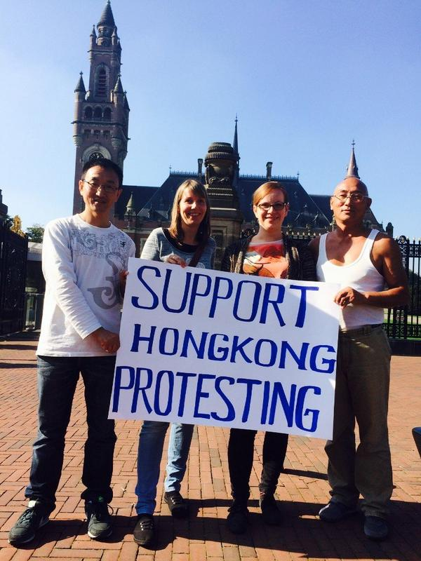 People across the world are supporting Hongkong Protesting