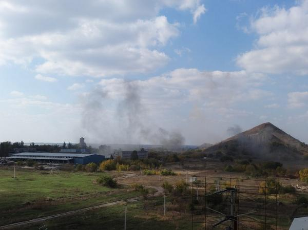 Explosions in S-W of Donetsk
