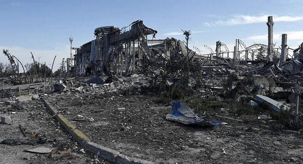 Luhansk airport was shelled with Depleted uranium - expert