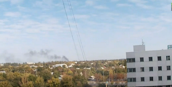 Latest round of shelling airport just started.