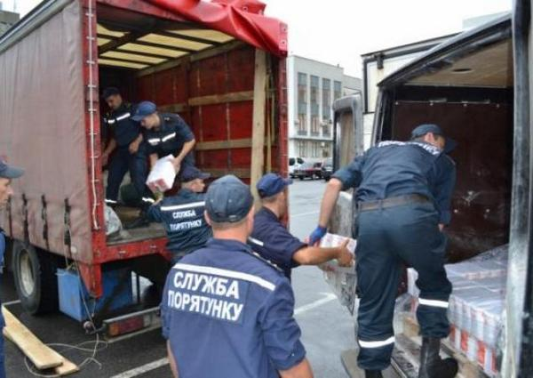 45 tons of humanitarian aid delivered to Luhansk region