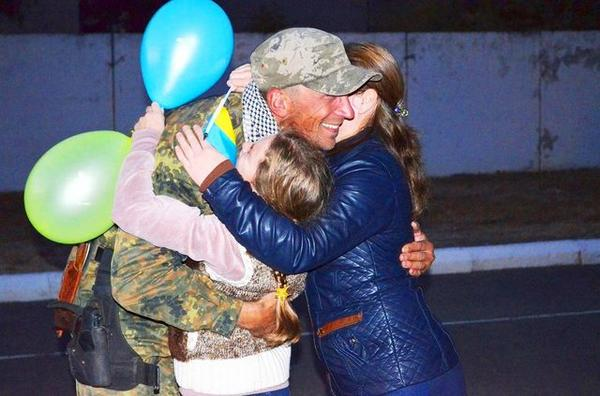 Odessa met soldiers from the ATO zone