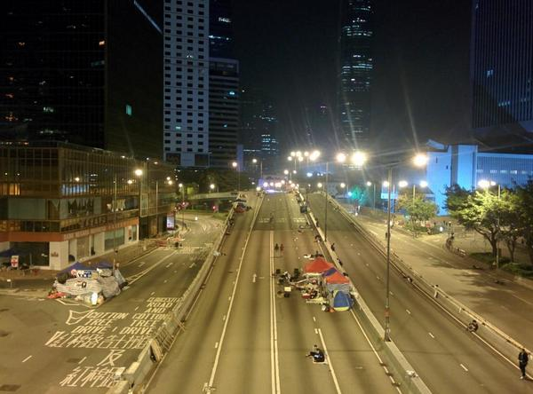 Admiralty, 3:45am: All calm on the western front.
