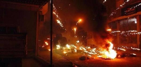 Clashes in Kiziltepe