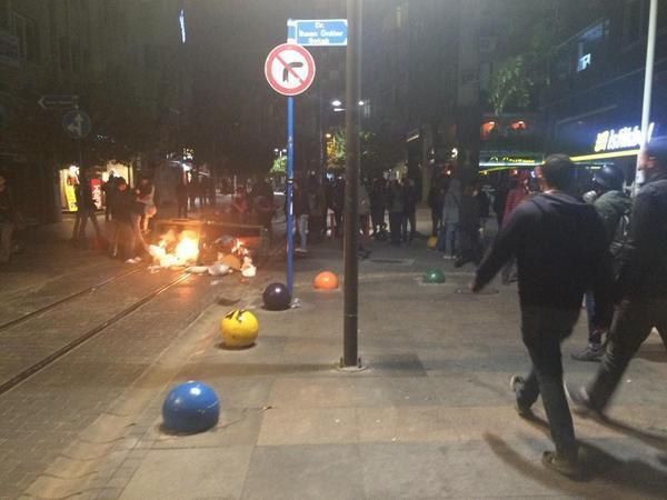 Unrest in Istanbul
