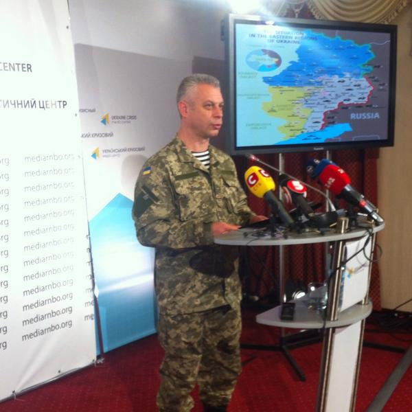 Col. Lysenko @NSDC_ua spox: 5 Ukrainian soldiers killed in the last 24h in ATO zone. 'Truce'  doesn't work
