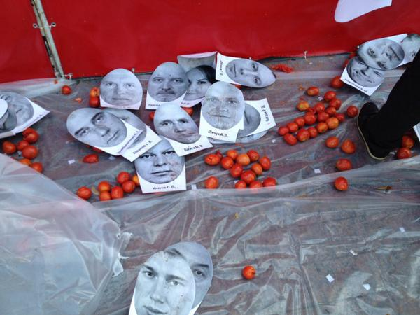 Protesters ready for tomat' fight for lustration and anti-corruption near Rada