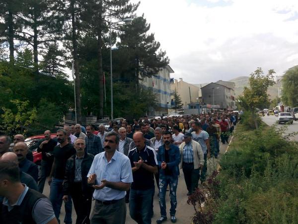 Rally in Dersim province
