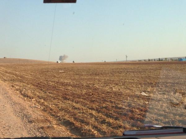 That might be 7th strike of coalition today in Kobane