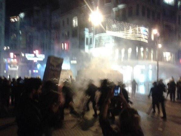Clashes on Taksim, Istambul