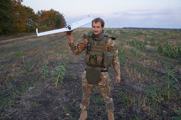 Volunteers testing UAV in Nikishine