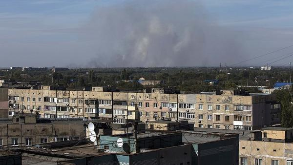 Three residents of Donetsk were killed  this morning