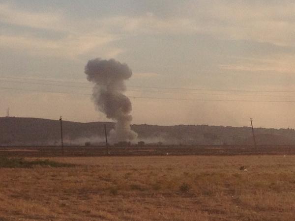 Airstrike in Kobane
