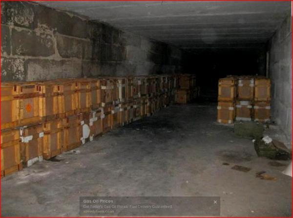 Ukraine authorities in Severodonetsk discover 300 boxes gunpowder,mortar shells Russia