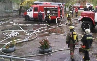 Recreation camp burnt in Odessa region