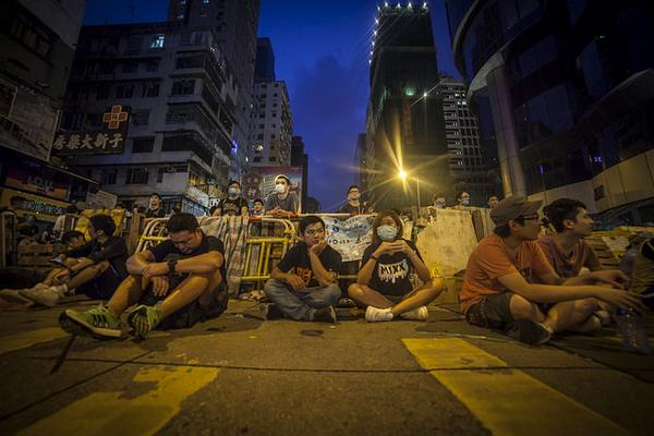 HongKong protest leaders vow to stay on the streets