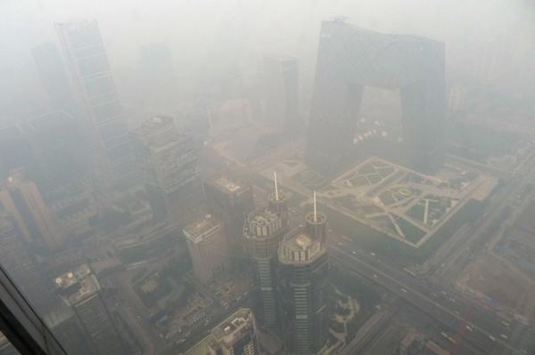 Beijing welcomes first 'airpocalypse' of the season :